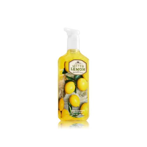 Xà bông rửa tay Meyer Lemon hand soap BBW