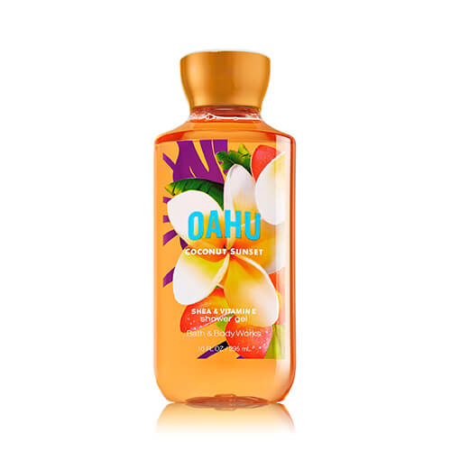 Gel tắm Oahu Coconut Sunset BBW