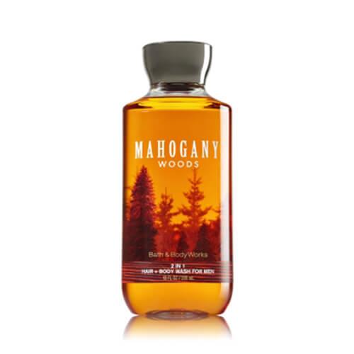 Gel tắm nam Mahogany Woods BBW