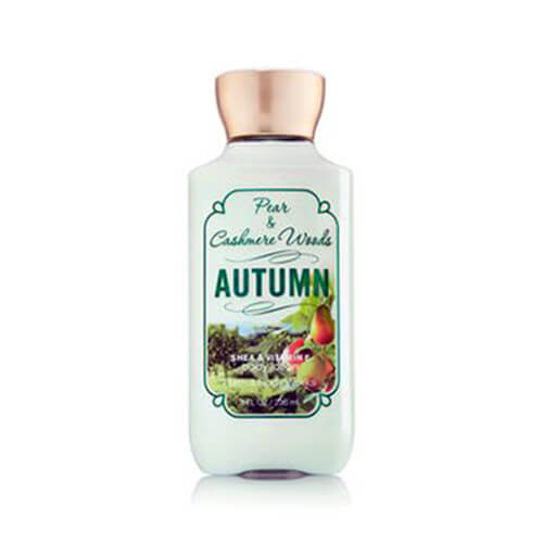 Body lotion Pear Cashmere & Woods Autumn BBW