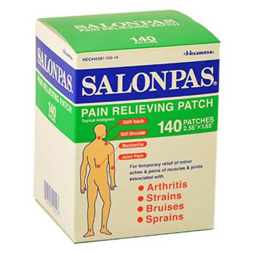 Salonpas Pain Relieving 140 miếng
