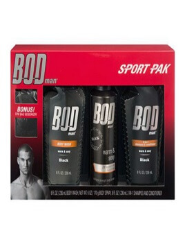 Gift set BOD Man Black Sport P