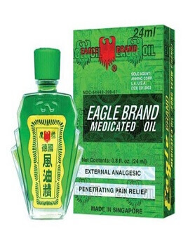 Dầu xanh Eagle Brand Medicated Oil 0.8 oz