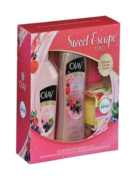 Gift set Olay Sweet Escape Trio