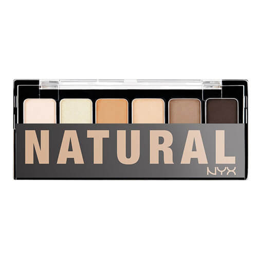 Phấn mắt NYX TNS01 The Natural Shadow Palette