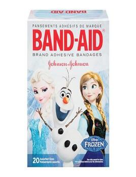 Băng keo cá nhân Johnson hình công chúa tuyết Frozen