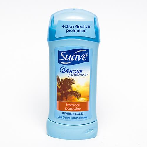 Lăn khử mùi Suave Tropical Paradise Invisible Solid