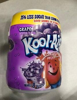 Bột pha nước trái cây hương nho Kool Aid drink mix grape