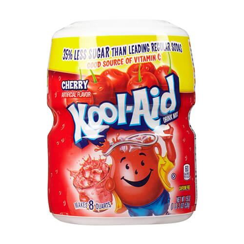 Bột pha nước trái cây hương cheery Kool Aid drink mix cherry