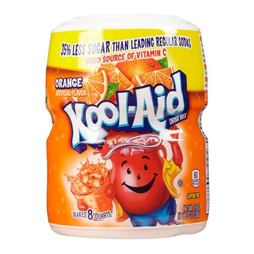 Bột pha nước trái cây hương cam Kool Aid drink mix orange