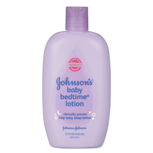 Johnson's Baby Bedtime Lotion tím 15 fl oz 443ml