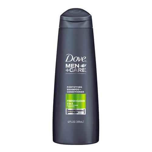 Dầu gội Dove Men +Care Fresh Clean Fortifying 2 in 1