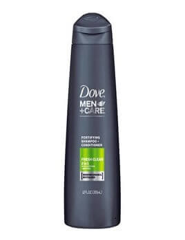 Dầu gội Dove Men +Care Fresh Clean Fortifying 2 in 1