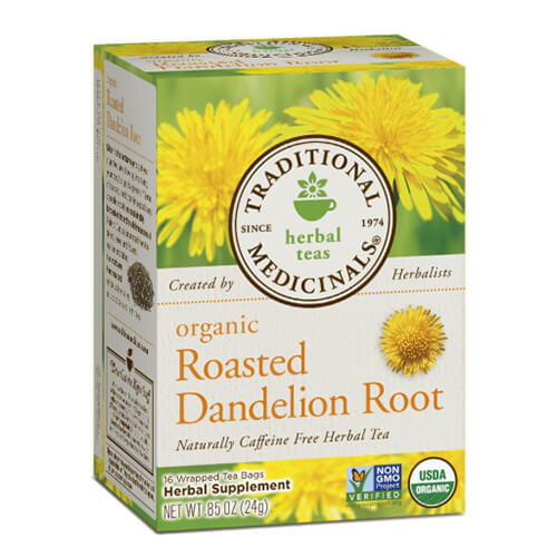 Trà rễ Bồ Công Anh Traditional Medicinals Roasted Dandelion Root
