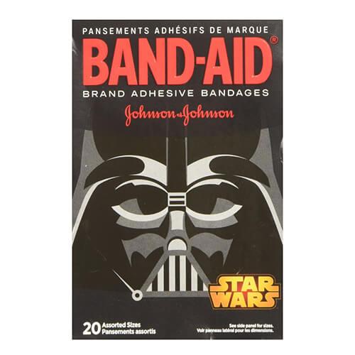 Băng keo cá nhân Johnson hình Chiến tranh các vì sao Star Worlds