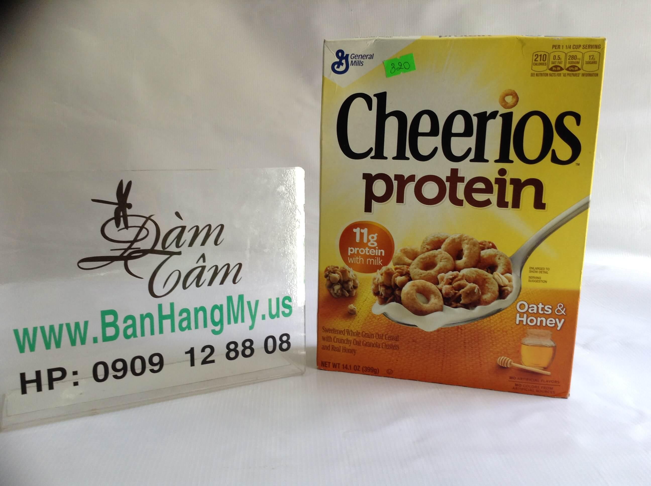 Bột ngũ cốc Cheerios protein