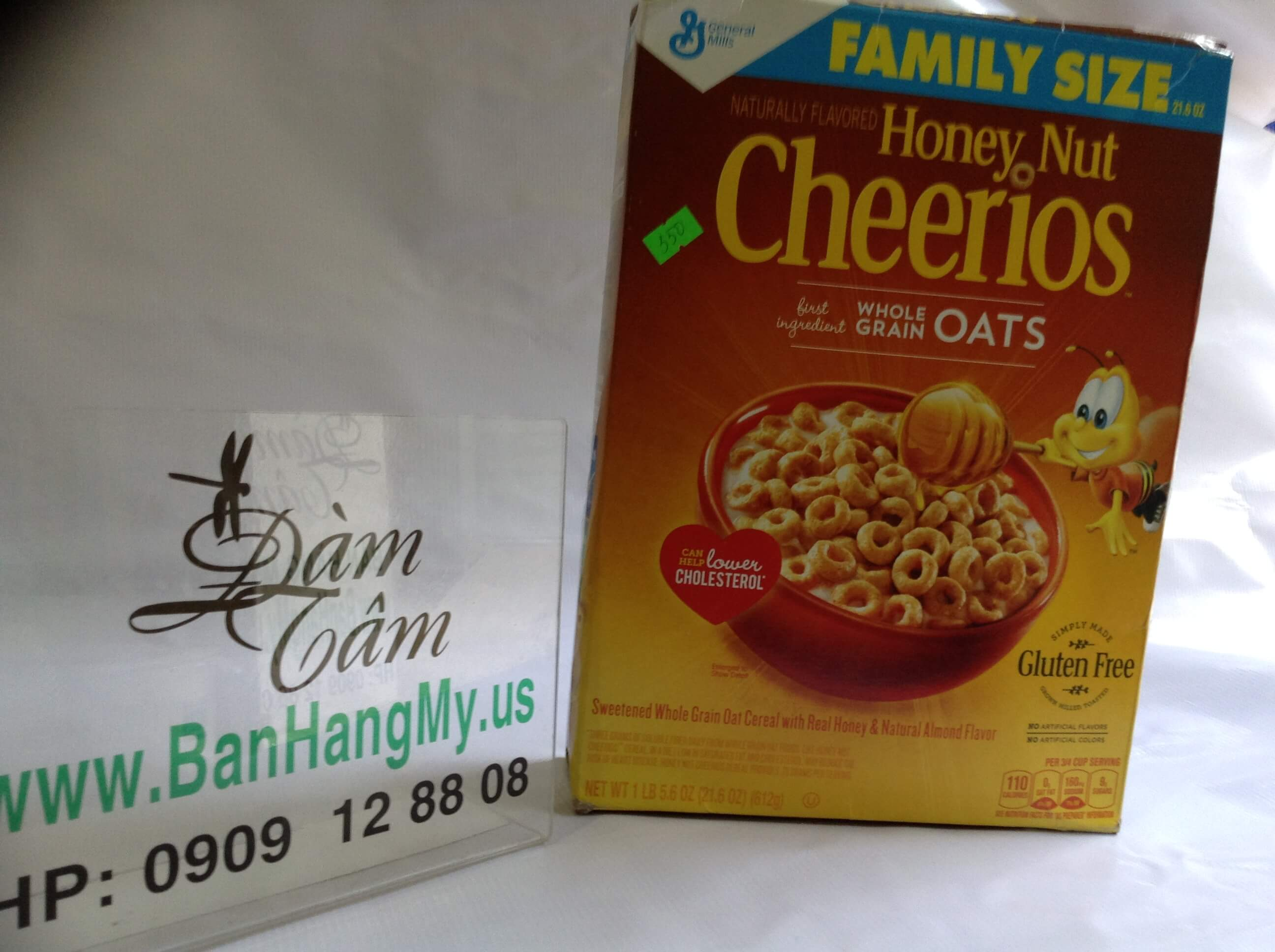 Bột ngũ cốc Honey Nut Cheerios 347gr