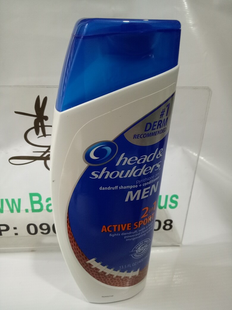 Dầu gôi Head & Shoulders  MEN 400ml - MADE IN USA