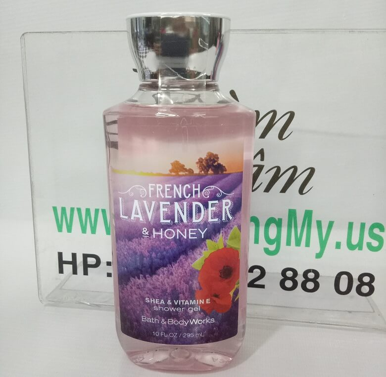 Gel tắm FRENCH LAVENDER & HONEY - SHEA& VITAMIN E  295Ml