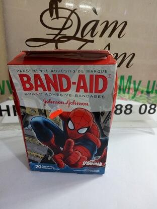 Băng keo cá nhân Johnson hình người nhện SPIDER - MAN