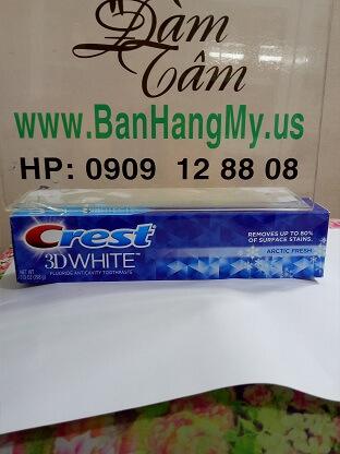 Kem đánh răng CREST 3D WHITE 198g