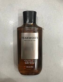 Gel Tắm HAIR & BODY WASH TEAKWOOD  Men