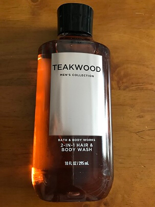 Gel Tắm HAIR & BODY WASH TEAKWOOD  MenS  COLLECTION