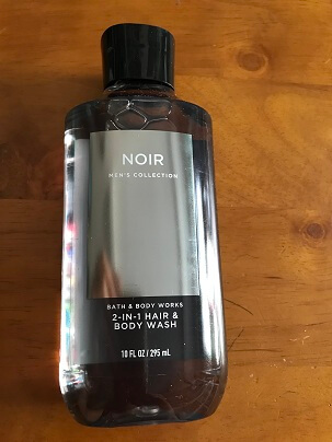 Gel Tắm HAIR & BODY WASH NOIR  MenS  COLLECTION