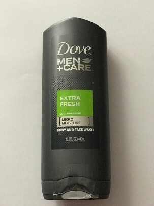 SỮA TẮM VÀ RỬA MẶT DOVE MEN + CARE EXTRA FRESH COOLING AGENT BODY AND FACE WASH 400ML