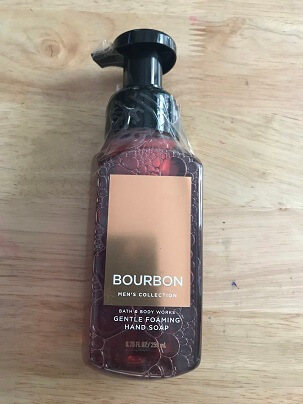 Xà Bông Rửa Tay BOURBON  MEN COLLECTION 259 ML