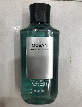 GEL  2IN 1 HAIR & BODY WASH OCEAN MEN
