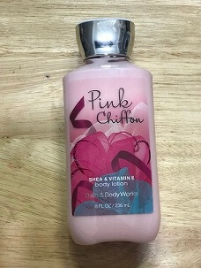 BODY LOTION PINK CHIFFON SHEA & VITAMIN E  236ML