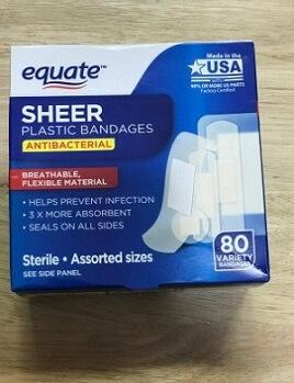 Băng keo Cá Nhân SHEER PLASTIC EQUATE