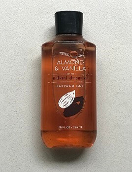 GEL Tắm ALMOND & VANILA  295ML