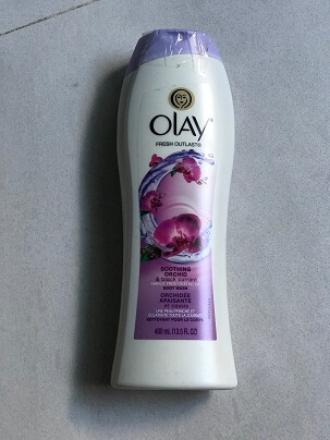 Gel tắm OLAY SOOTHING ORCHID FRESH OUTLAST 400ML