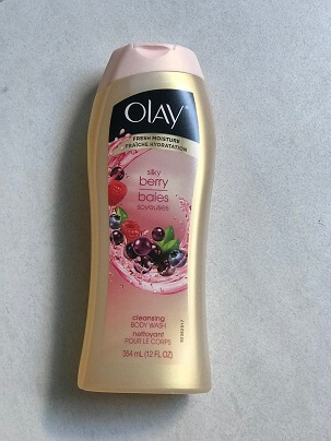 Gel Tắm OLAY SILKY BERRY BAIES SOYEUSES 354 ML