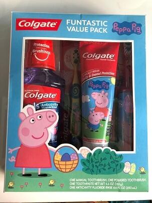 Bộ chăm sóc răng Miệng PEPPA PIG COLGATE