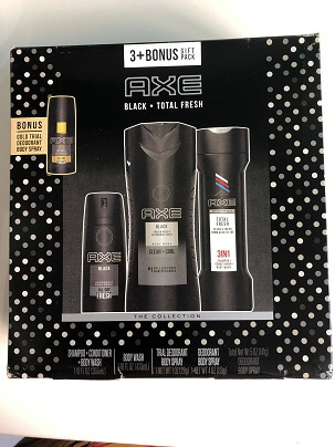 Bộ AXE BLACK TOTAL FRESH FOR HIM