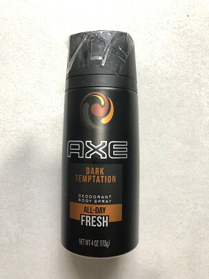 Xịt Thơm Toàn Thân Nam  BODY SPRAY AXE DARK TEMPTATION ALL DAY FRESH