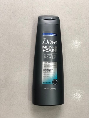 Dầu Gội Xả 2 IN 1 DOVE MEN + CARE DANDRUFF DEFENSE  355ML