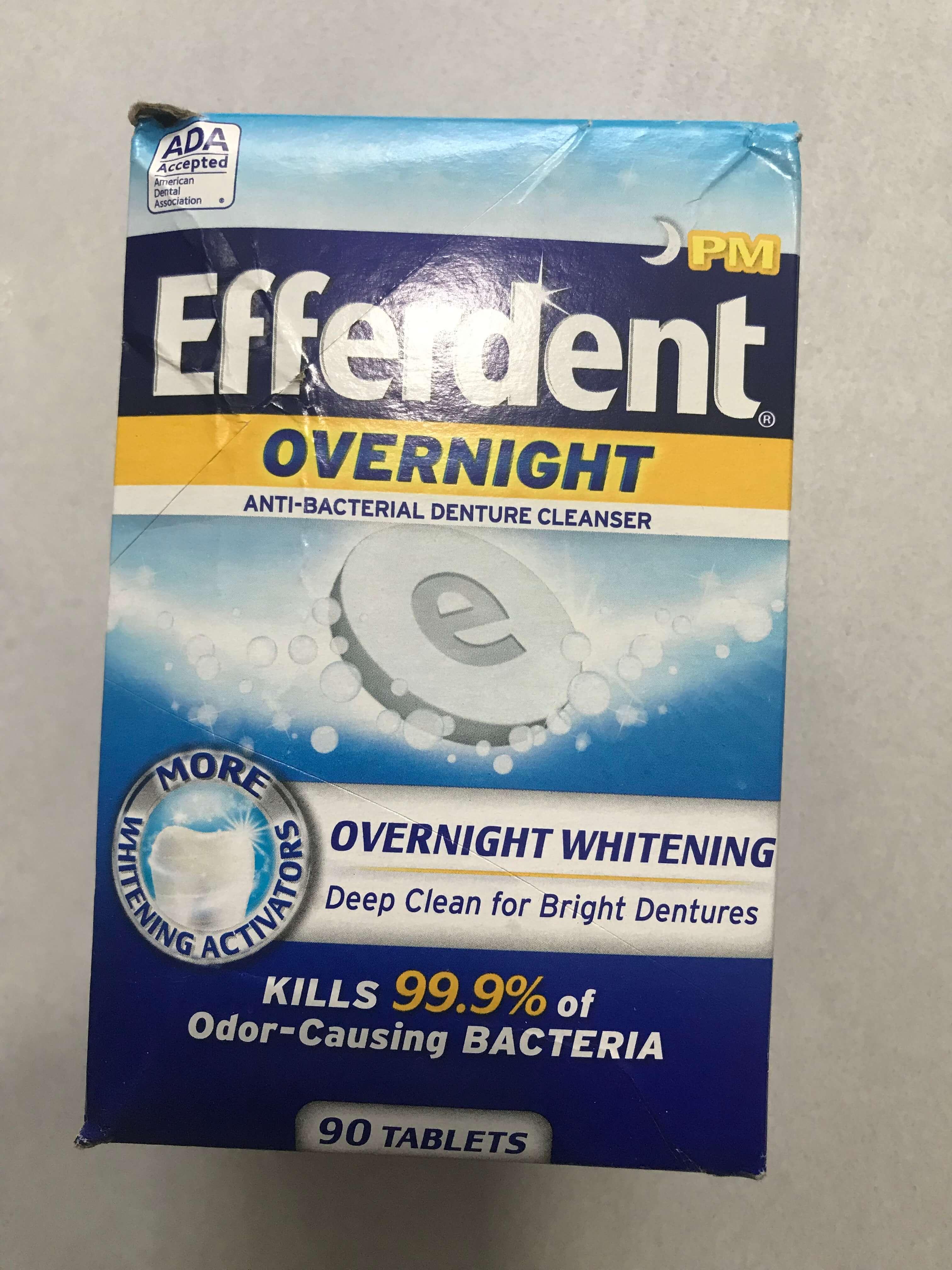Thuốc Ngâm Răng EFERDEN COMPLETE CLEAN 102table
