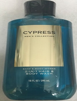 GEL tắm CYPRESS  MEN COLLECTION 2 IN 1  - 295 ML