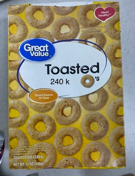 Bánh CEREAL TOASTED 340 gr
