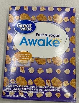 Bánh CEREAL AWAKE FRUI & YOURT 354 Gr