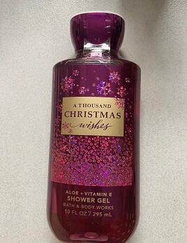 Gel Tắm Nữ ATHOUSAND CHRISTMAS WISHES 295 ml